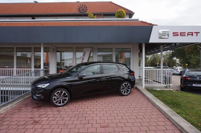 SEAT Leon 1.4 e-HYBRID FR DSG 204PS ACC Totwinkel Kessy 18´´Alu Panorama Parklenk. PreCrash LED Dinamica